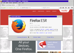 Firefox 38 ESR beta for OS/2